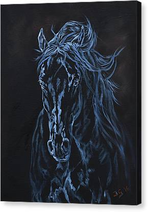 Nocturno Canvas Print by Jana Goode