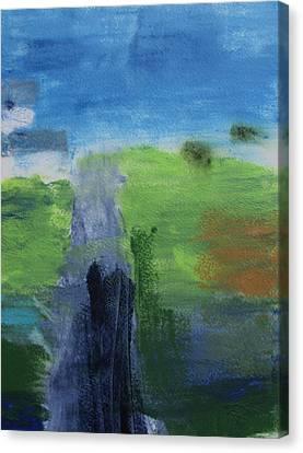 Nod To Diebenkorn Canvas Print