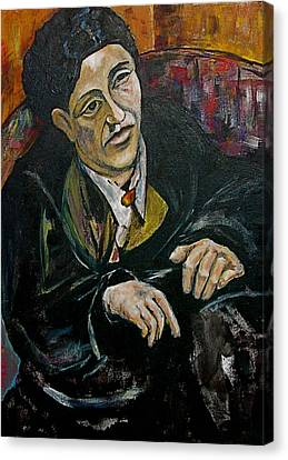 Nod To Gertrude And Picasso Canvas Print by Dan Earle
