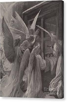 Noel Canvas Print by Amedee Forestier