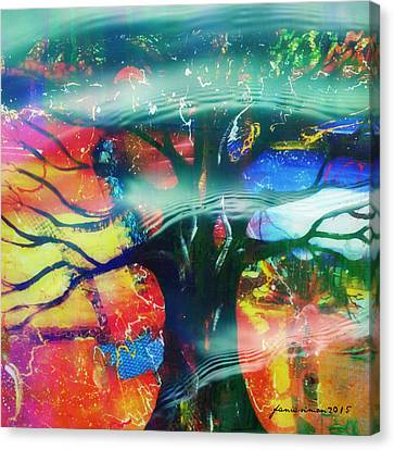 Noel Canvas Print by Fania Simon