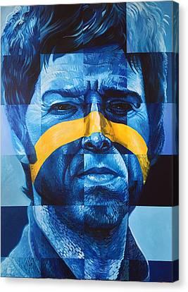 Noel Gallagher Canvas Print by Steve Hunter