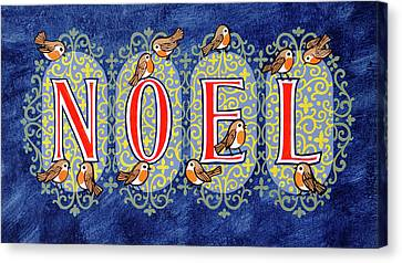 Noel Canvas Print by Stanley Cooke
