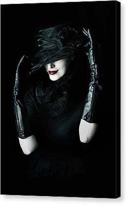 Noir Canvas Print by Cambion Art