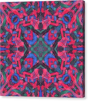 Noise Soup -pattern- Canvas Print