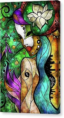 Nola Canvas Print - Nola by Mandie Manzano