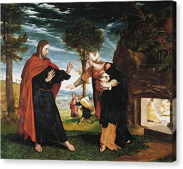 Noli Me Tangere Canvas Print by Hans Holbein the Younger