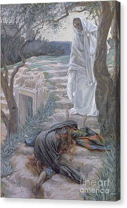 Entrance Canvas Print - Noli Me Tangere by Tissot