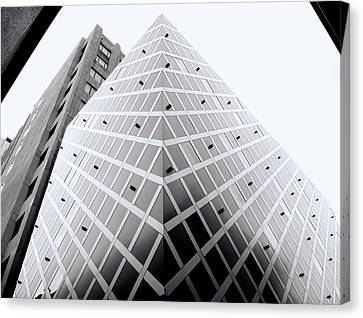 Canvas Print featuring the photograph Non-pyramidal by Wayne Sherriff