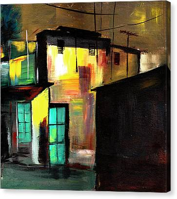 Nook Canvas Print by Anil Nene