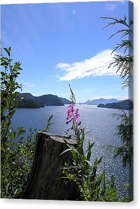 Flowers Of Nootka Sound Canvas Print