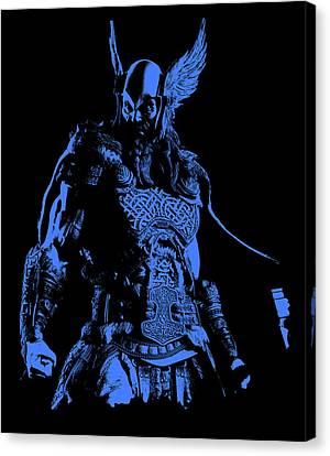 Nordic Warrior Canvas Print