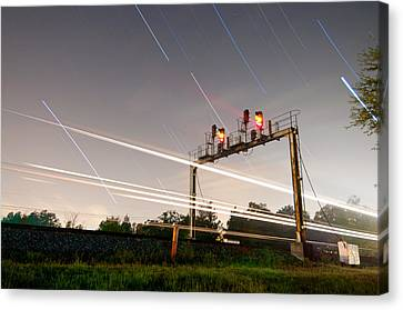 Norfolk Southern At Wellford Sc Canvas Print