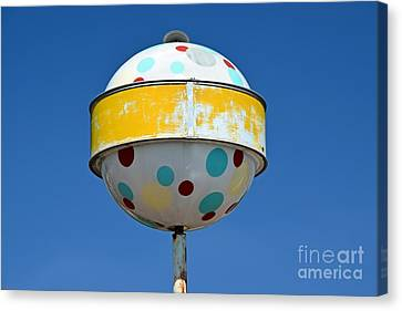 Laundry Mat Canvas Print - Norge Ball by Ben Schumin