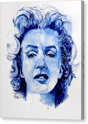Norma Jean Canvas Print by William Walts