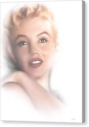 Norma Jeane Canvas Print by Peter Chilelli