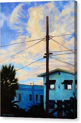 Normal Ave Canvas Print by Andrew Danielsen