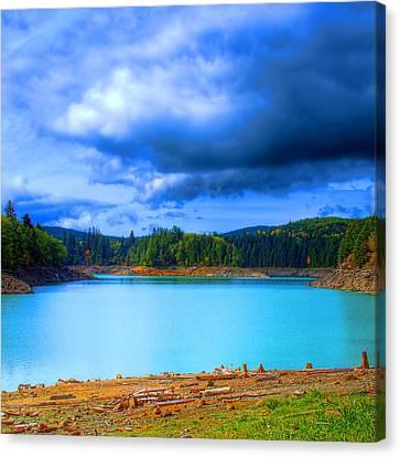North Alder Lake Canvas Print by David Patterson