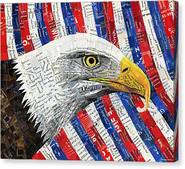 North American Bald Eagle Canvas Print