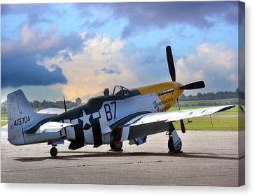 North American P-51 Mustang Canvas Print by Jason Green