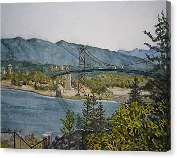North And West Canvas Print