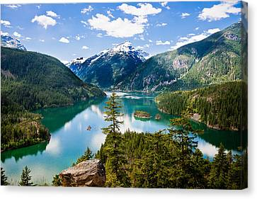 North Cascades Canvas Print by Niels Nielsen