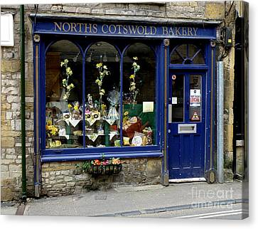 North Cotswold Bakery Canvas Print