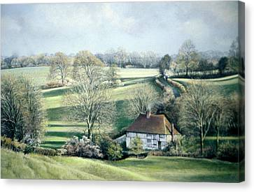 North Downs Hideaway Canvas Print