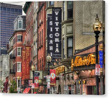 North End Charm 11x14 Canvas Print by Joann Vitali