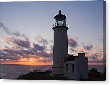 North Head Lighthouse Canvas Print by Terry  Wieckert