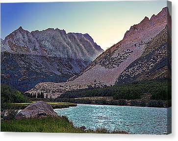 North Lake Sunset Canvas Print by Larry Darnell