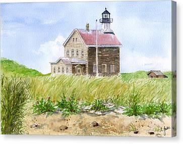 North Light - Block Island Canvas Print
