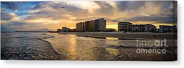 North Myrtle Beach Sunset Canvas Print
