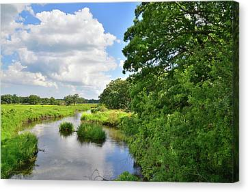 North Nippersink Creek Canvas Print