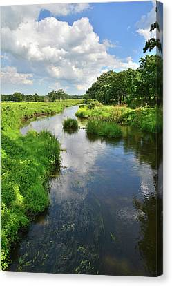North Nippersink In Mchenry County Canvas Print