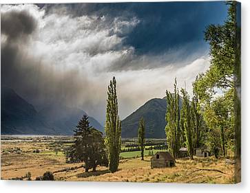 Canvas Print featuring the photograph North Of Glenorchy by Gary Eason