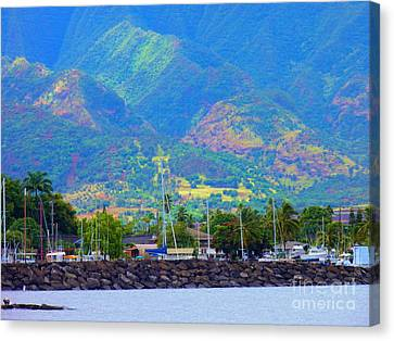 North Shore Haleiwa Hawaii  Canvas Print