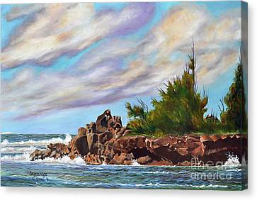 North Shore Oahu Canvas Print