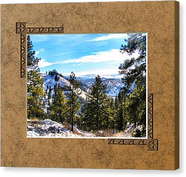 Canvas Print featuring the photograph North View by Susan Kinney