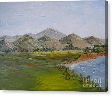 Northern California Coast Line Canvas Print