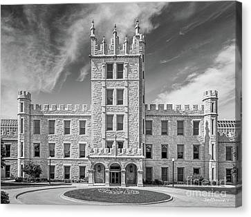 Northern Illinois University Altgeld Hall Canvas Print by University Icons