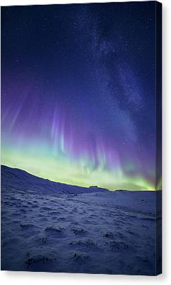 Northern Light Canvas Print by Tor-Ivar Naess
