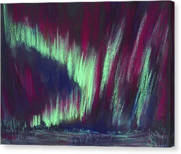 Northern Lights Canvas Print by Anastasiya Malakhova