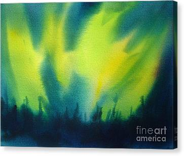 Northern Lights I Canvas Print by Kathy Braud