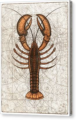 Northern Lobster Canvas Print by Charles Harden