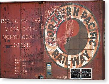 Northern Pacific Railway Canvas Print by Todd Klassy