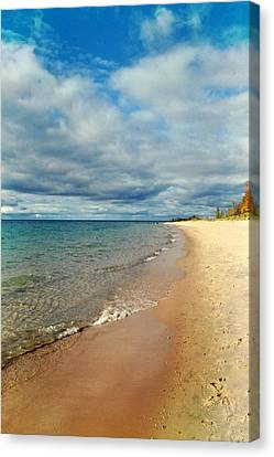 Canvas Print featuring the photograph Northern Shore by Michelle Calkins