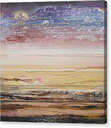 Northumberland Beach Low Tide 2009 Canvas Print by Mike   Bell