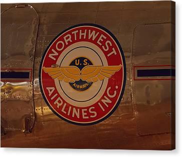 Northwest Airlines 1 Canvas Print