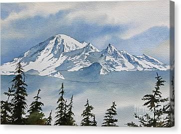 Northwest Mountain Canvas Print by James Williamson